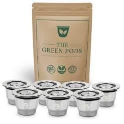 bundle of seven rusable nespresso pods